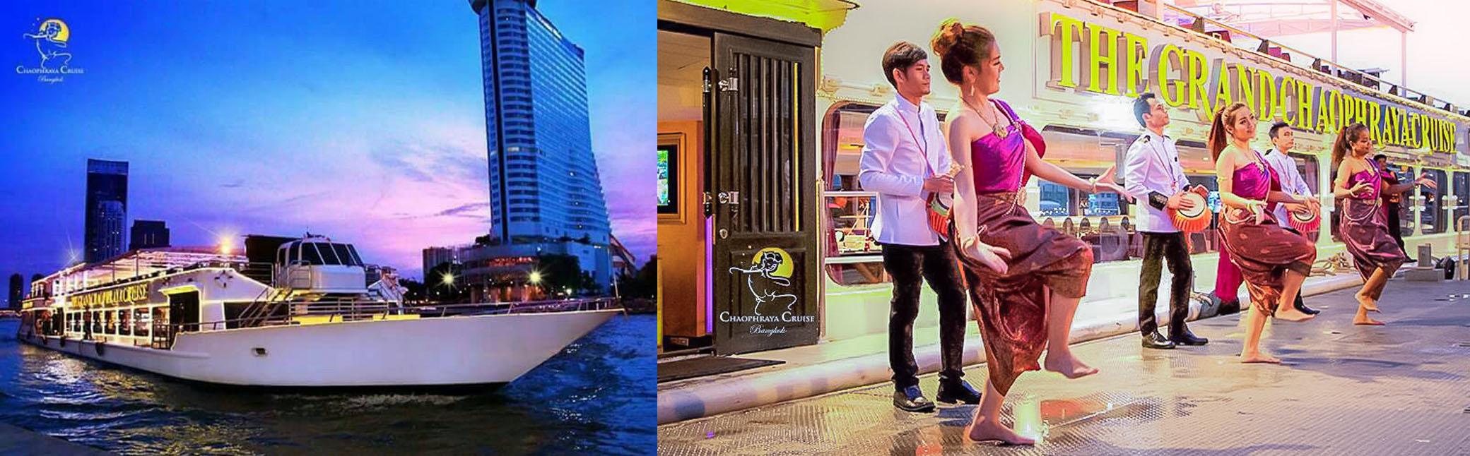 Chaophraya Cruise ล่องเรือแม่น้ำเจ้าพระยา ดินเนอร์  Seafood Buffet by เรือสำราญ
