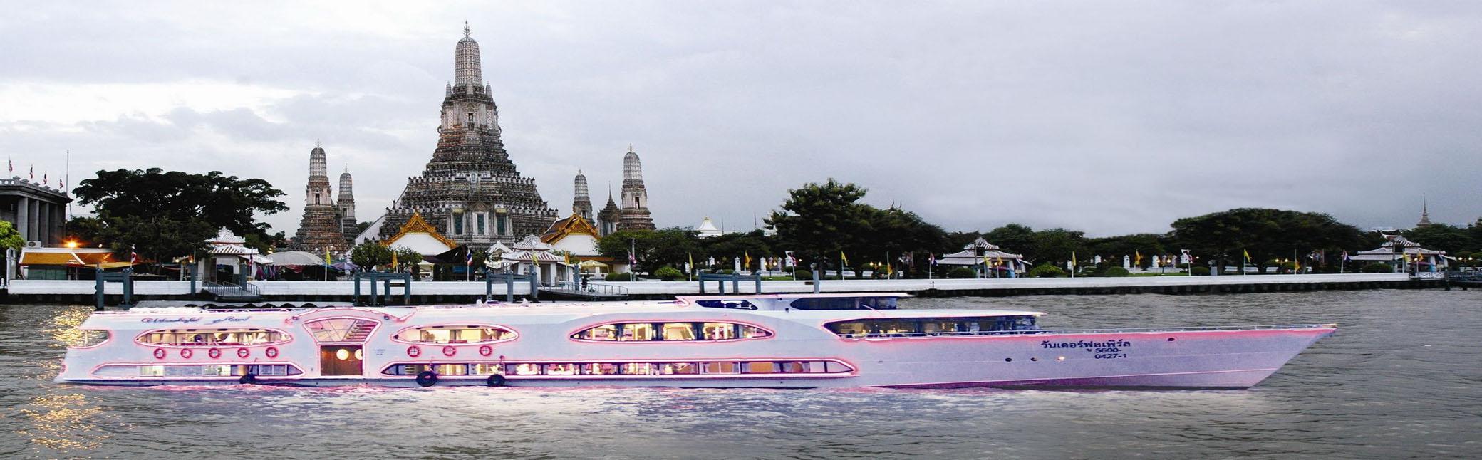 Wonderful Pearl Cruise ดินเนอร์ล่องเรือสำราญสุดหรู  วันเดอร์ฟูล เพิร์ล ครูซส์